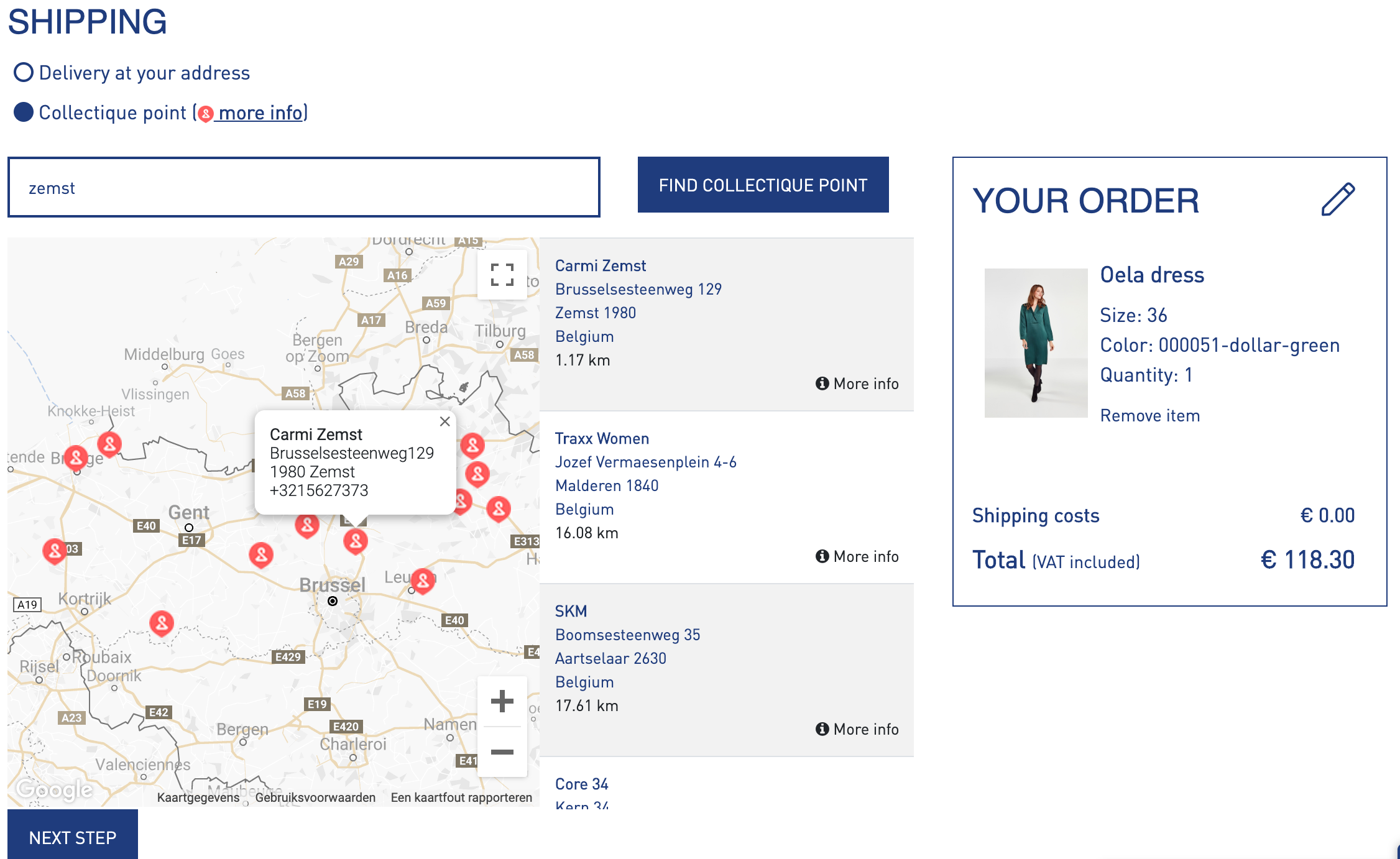 store-locator-collectique-fit-and-collect-shipping-delivery-option